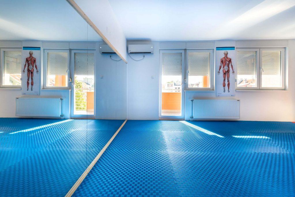 Зона Комфора - Сала за бежбање - Центар за киропрактику и терапије и масажу